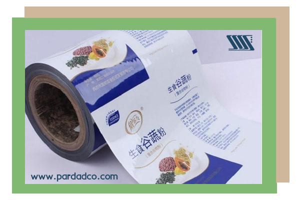 چاپ بسته بندی پلاستیکی در چاپخانه پرداد
